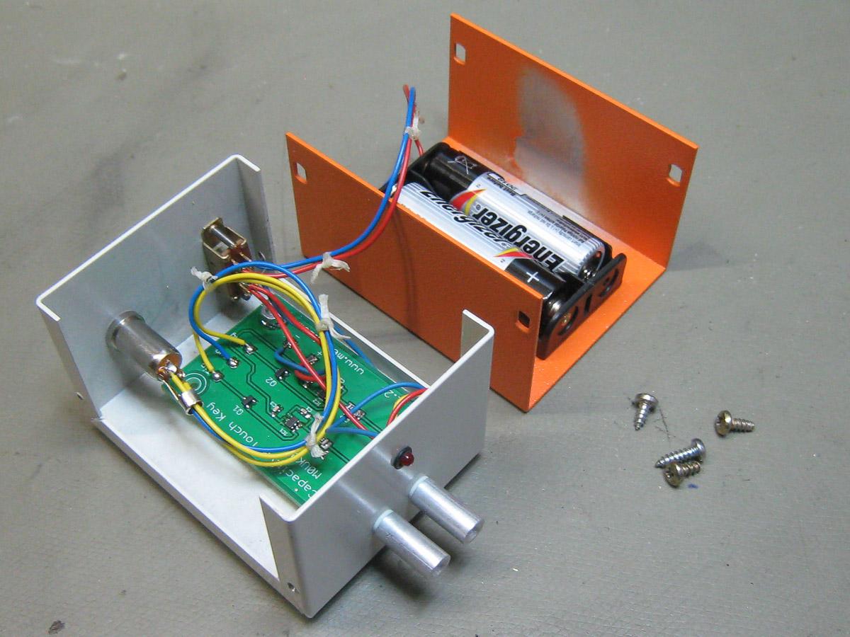 Cw Sensor Keyer Simple Electronic Sensorkeyer 1 2 3